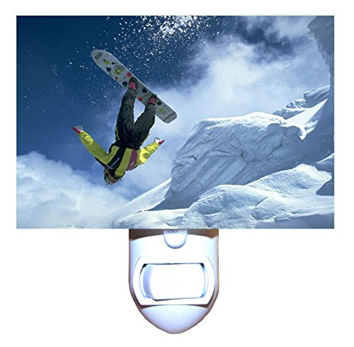 Snowboard Night Light