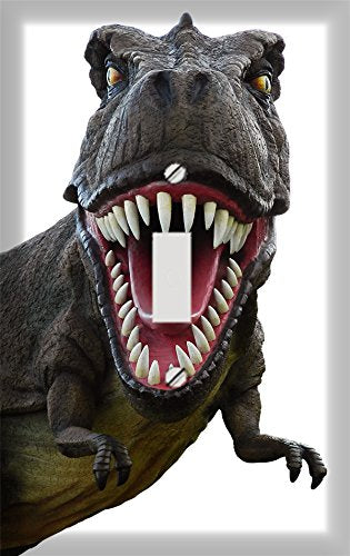 Mean T Rex Switch Plate Cover
