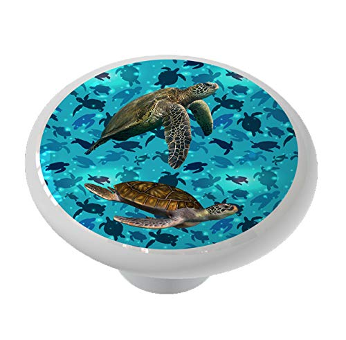 Sea Turtle Sea Drawer Knob