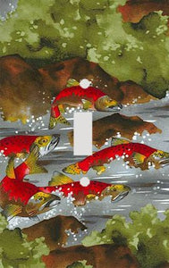 Salmon River Switch Plate Cover