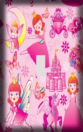 Fairy Princess Switch Plate Cover