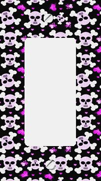 Cross Bone Skulls and Hearts GFI Rocker Switchplate Cover