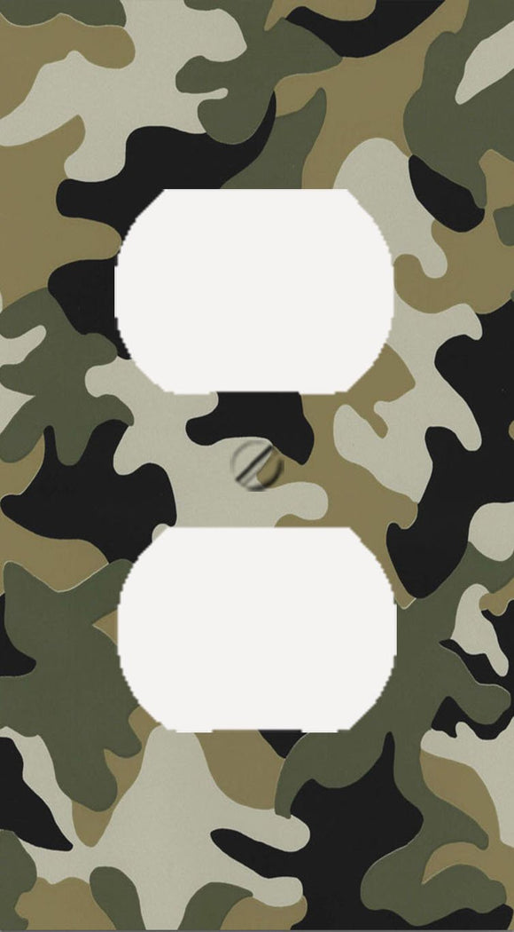 Jungle Army Camo Outlet Cover