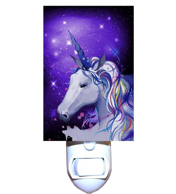 Unicorn Galaxy Night Light