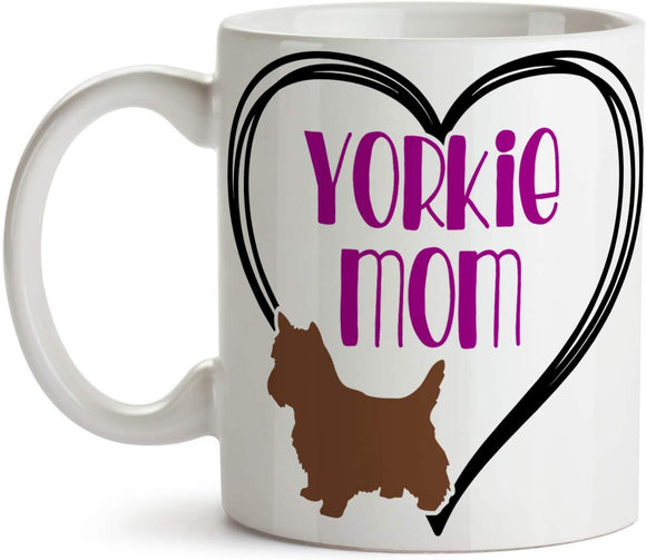 Yorkie Mom 11oz Coffee Mug - Tea Mug