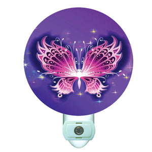 Gotham Decor Butterfly of Light Decorative Round Night Light