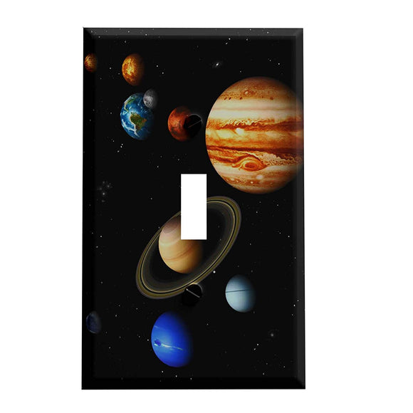 The Nine Planets Switch Plate Cover