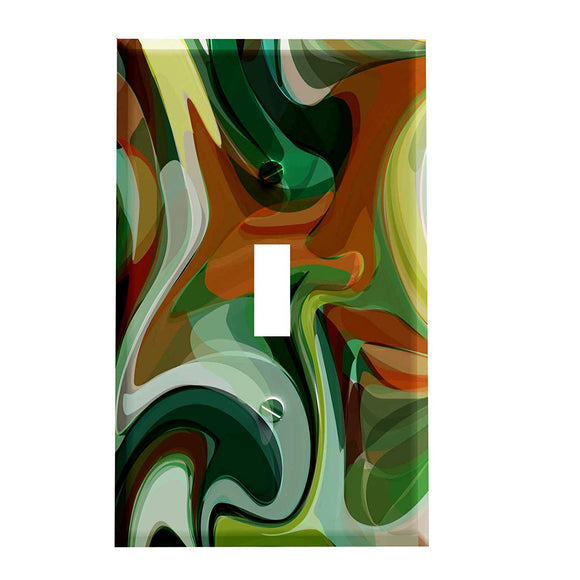 Deco Camo Swirl Switch Plate Cover