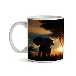 Elephant Tree Hill 11oz Coffee Mug - Tea Mug