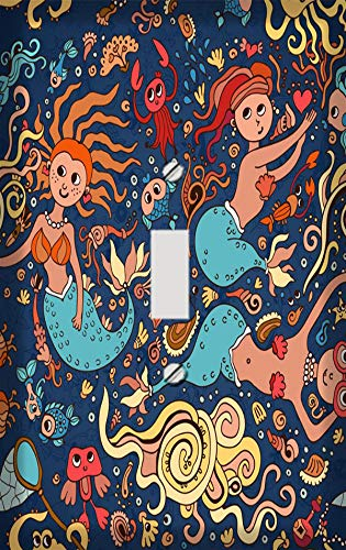 Ocean Fairies Switch Plate Cover