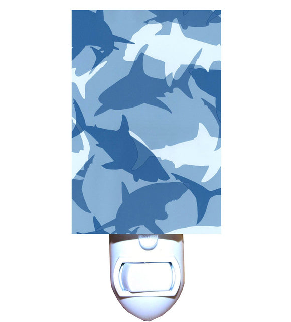 Shark Camo Night Light