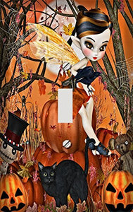The Halloween Fairy Switch Plate Cover