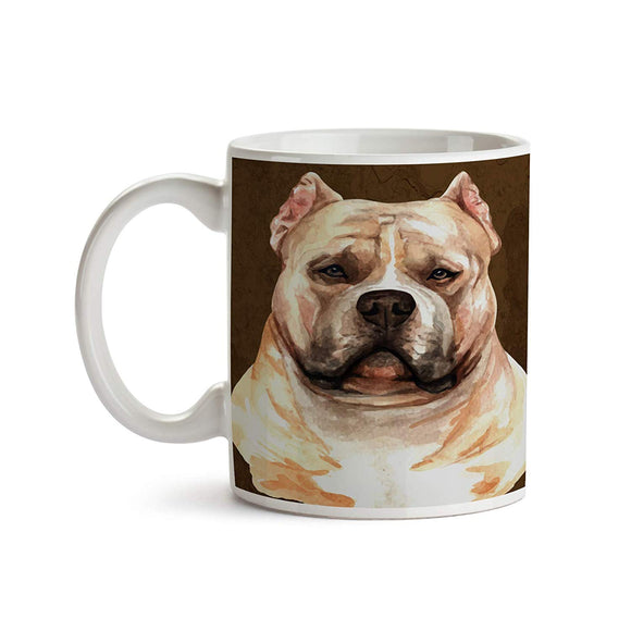 American Bully Dog Breed 11oz Coffee Mug - Tea Mug