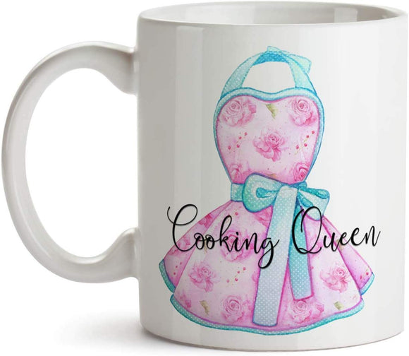 Cooking Queen 11oz Coffee Mug - Tea Mug
