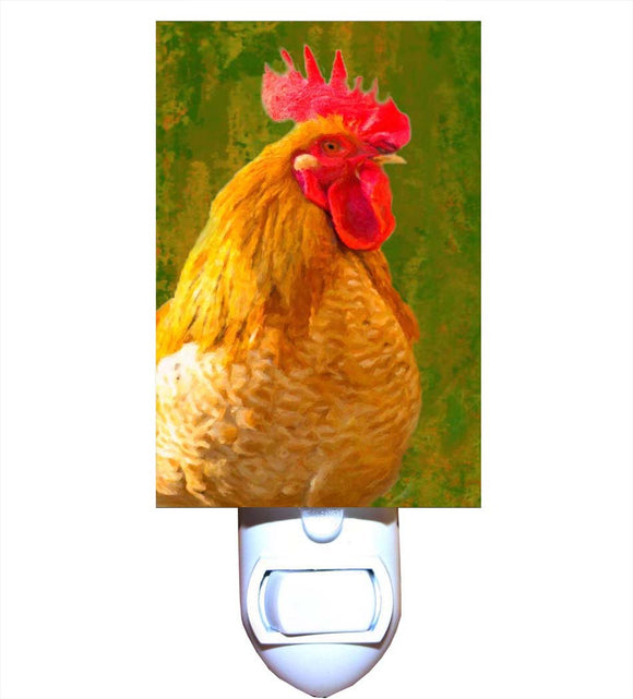 Abstract Rooster Night Light