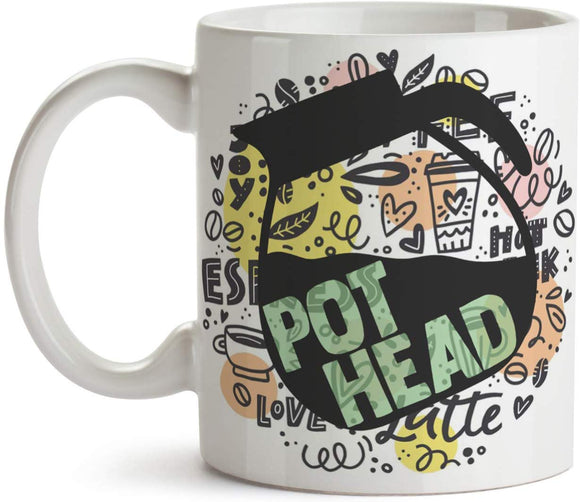 Pot Head 11oz Coffee Mug - Tea Mug