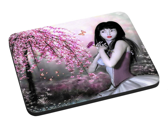 Asian Spring Mouse Pad