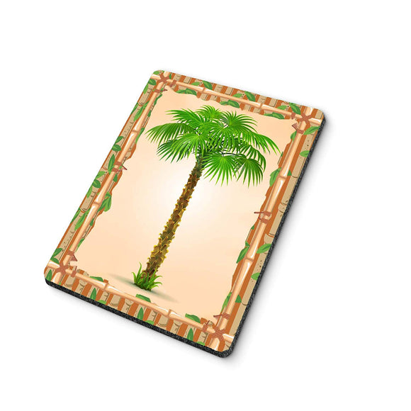 Bamboo Palm Mouse Pad
