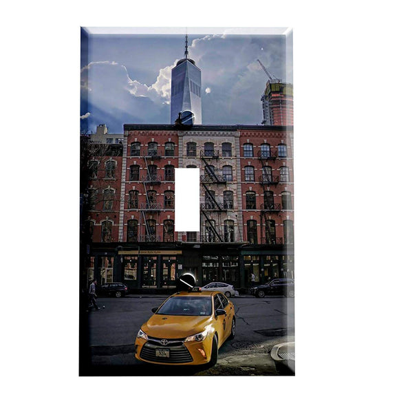The New York City Grind Switch Plate Cover