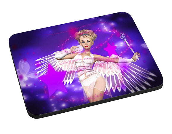 Angel of Magic Mouse Pad