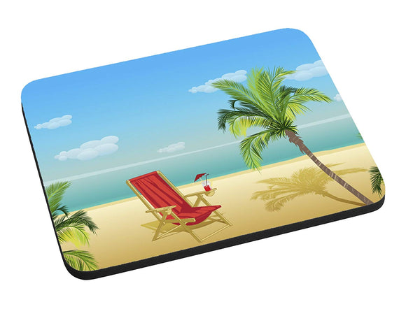 Beach Paradise Mouse Pad