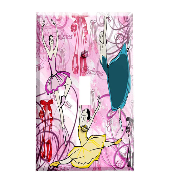 Ballerinas Switch Plate Cover