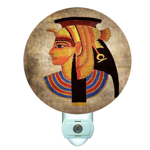 Egyptian Goddess Round Night Light