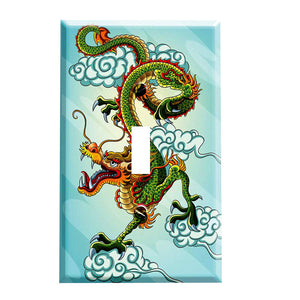 Chinese Dragon Switch Plate Cover