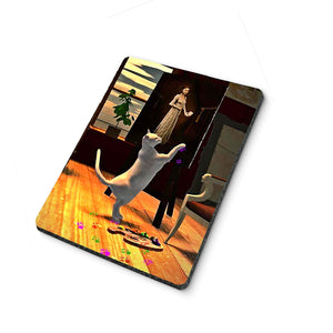 Artist Cat Mouse Pad