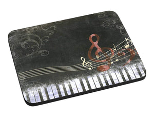Abstract Piano Mouse Pad