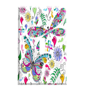Butterfly and Dragonfly Switch Plate Cover