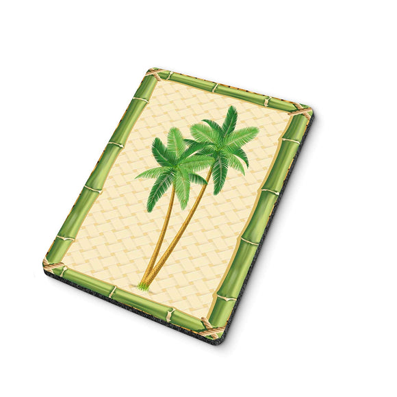 Bamboo Palm Green Mouse Pad