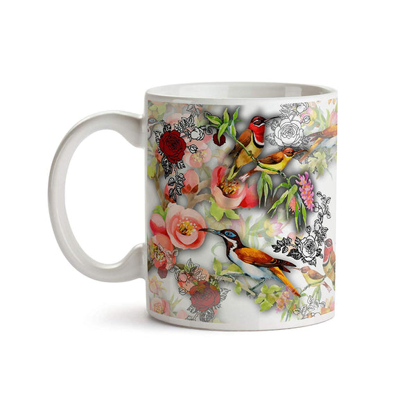 Nature Bird Design 11oz Coffee Mug - Tea Mug