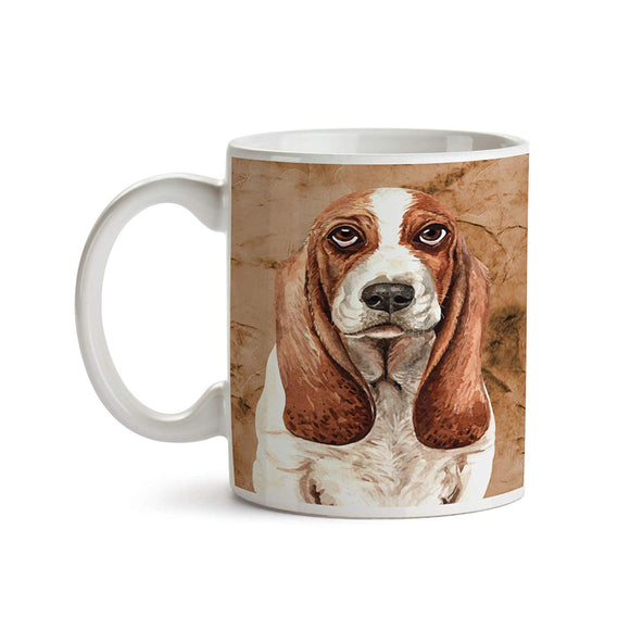 Basset Hound Dog Breed 11oz Coffee Mug - Tea Mug