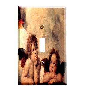 Raphael Cherubs Switch Plate Cover