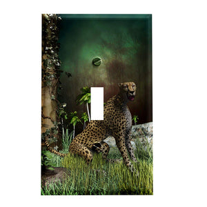 Cheetah Safari Switch Plate Cover