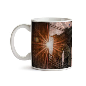 Brooklyn Bridge Sunshine 11oz Coffee Mug - Tea Mug