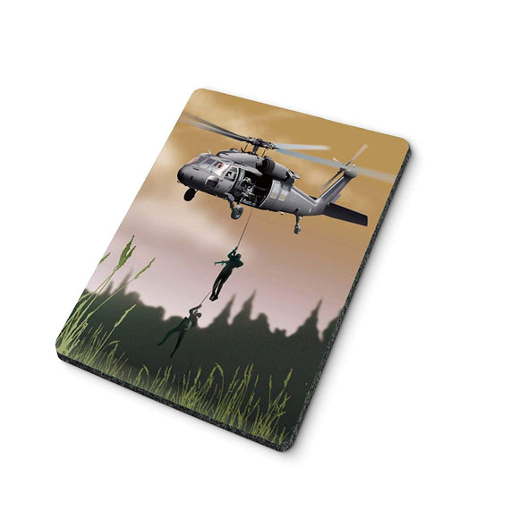 Drop Zone Helicopter Mouse Pad