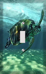 The Sea Turtle Switch Plate Cover