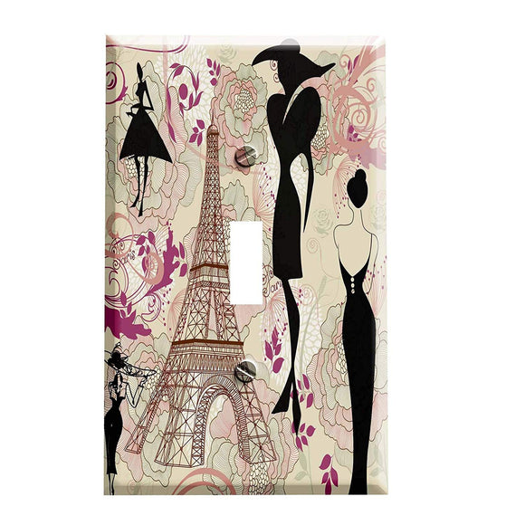 Fashions of Paris Switch Plate Cover