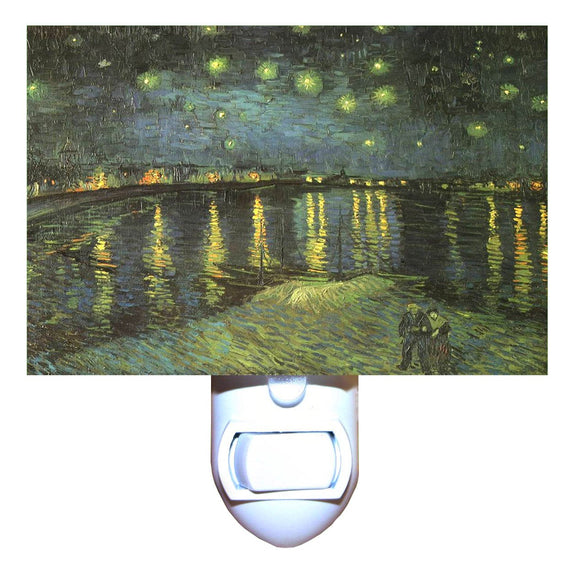 Starry Night on the Rhone by Van Gogh Night Light
