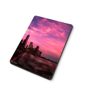 Cotton Candy Sunset Mouse Pad