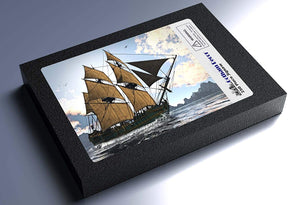 18th Century Sailing Ship 250 Piece Jigsaw Puzzle