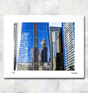 Freedom Tower Reflections Limited Edition Fine Art Print By Gina Brake