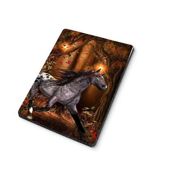 Autumn Horse Mouse Pad