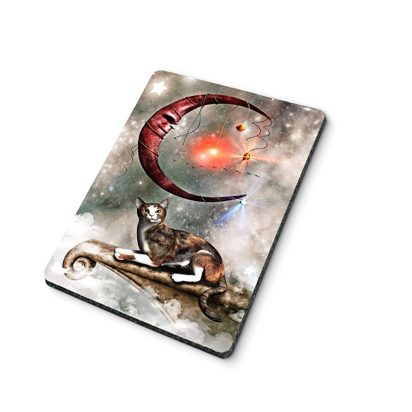 Celestial Cat Mouse Pad