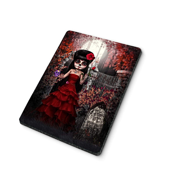 Day of the Dead Sugar Skull Doll Mouse Pad