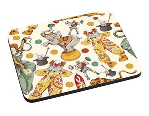 Circus Collage Mouse Pad