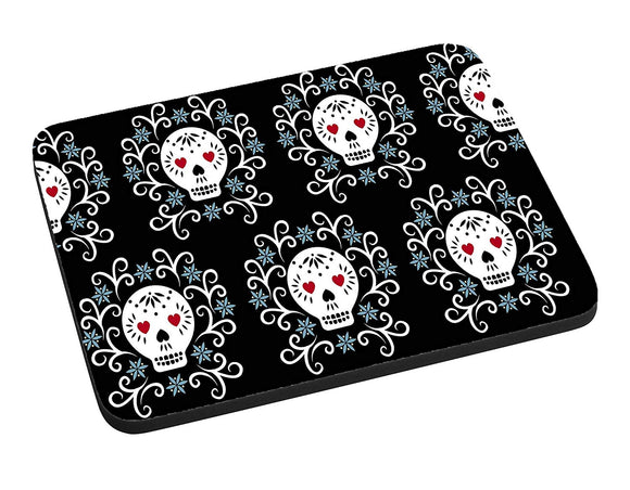 Fancy Sugar Skulls Mouse Pad