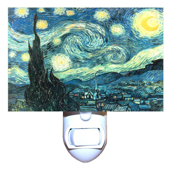 Starry Night by Van Gogh Night Light
